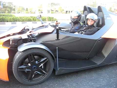 Ktm X Bow Car No Roof Doors Or Windshield Youtube