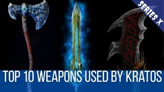 Top 10 Weapons Used By Kratos in Hindi | Top 10 Weapons in God of War in Hindi
