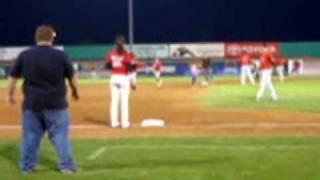 Baseball Mascot Severly Injured!
