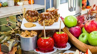 Caramel and Candied Apples - Home & Family