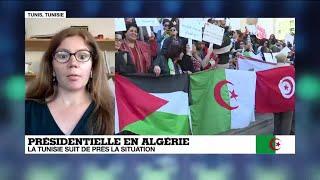 Présidentielle en Algérie: la Tunisie suit de près la situation