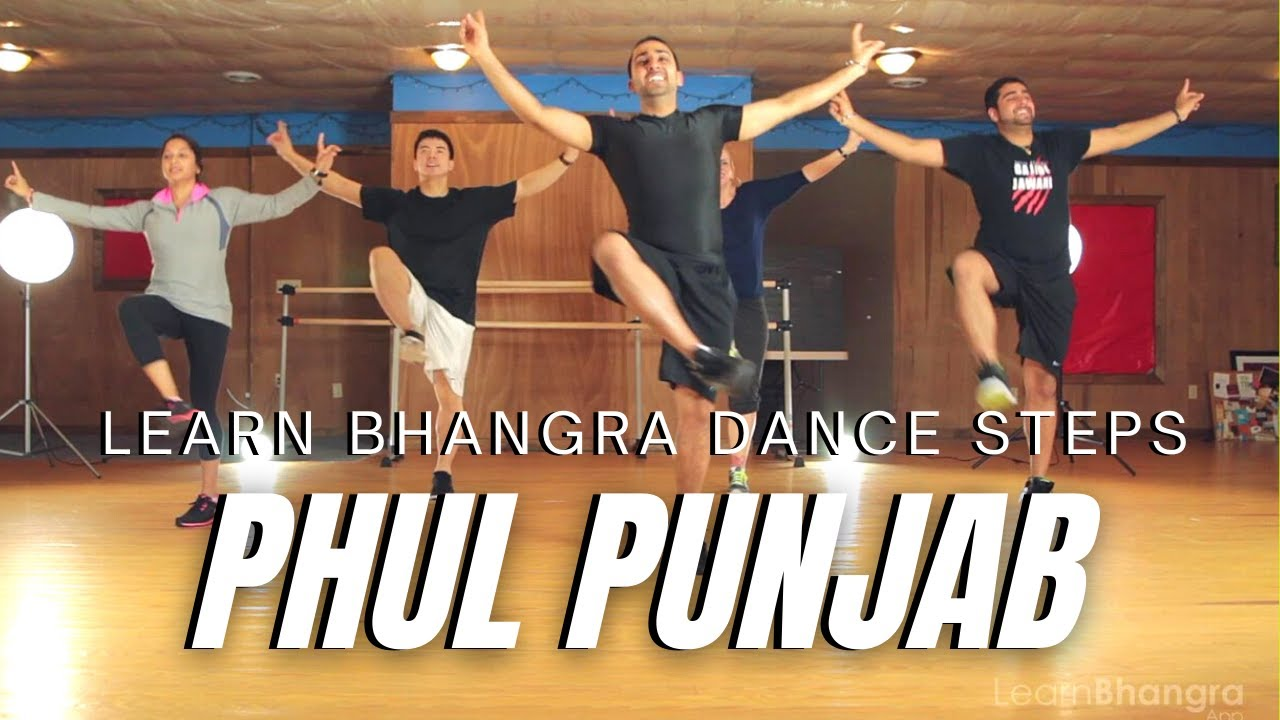 Bhangra steps learn to cast