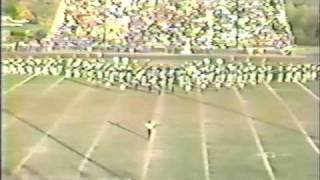 "1983 IUP Marching Band, ELP: ""Benny the Bouncer"" (1 of 5)"