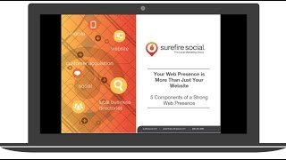 Your Web Presence is More Than Just Your Website: The 5 Components to a Strong Web Presence