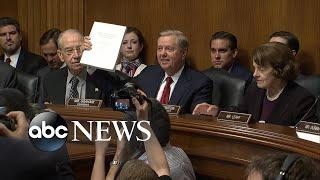 Sen. Graham presents full Mueller report at Senate hearing