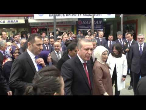 Cumhurbaşkanı Recep Tayyip Erdoğan Başkan Rafet Vergili´yi Ziyaret Etti