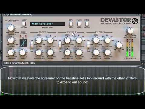 d16 Group - Devastor Screaming Bass