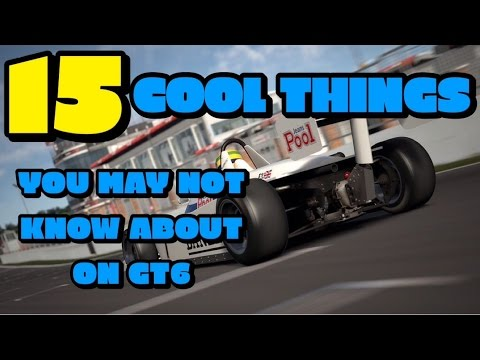 15 Cool Things You May Not Know About On Gran Turismo 6