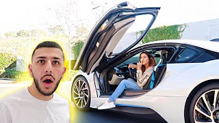 MY EX-GIRLFRIEND STOLE MY BMW i8!!