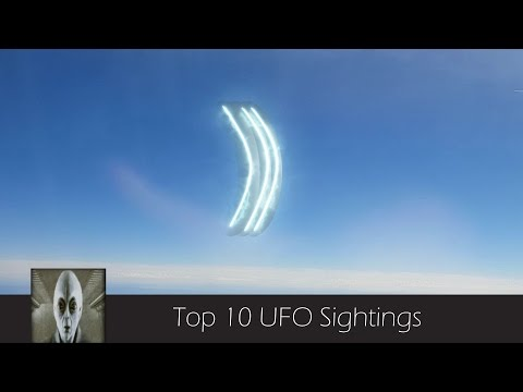 Top 10 UFO Sightings April 21st 2017
