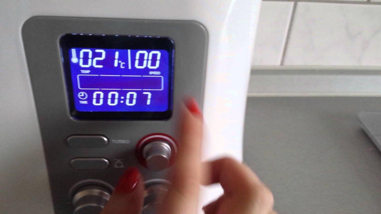funktionen der kchenmaschine studio aldi inkl kochfunktion und wie man diese anmacht