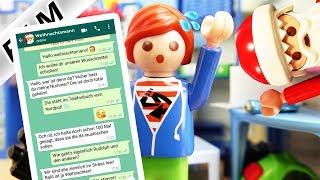 Playmobil Film Deutsch WHATSAPP MIT DEM WEIHNACHTSMANN! JULIANS WUNSCHZETTEL CHAT! Familie Vogel
