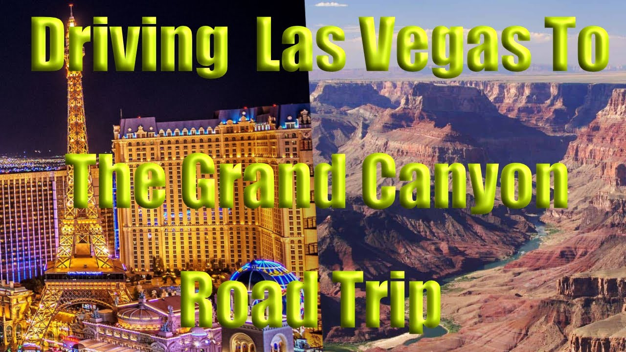 Road Trip Driving Las Vegas To Grand Canyon via Route 66