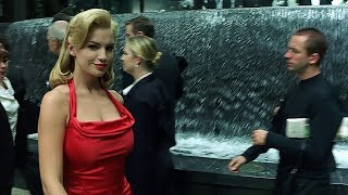 The woman in the red dress | The Matrix [Open Matte]