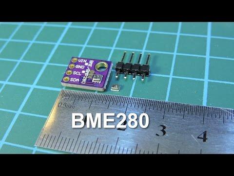 BME280 - Датчик атмосферного давления, температуры, влажности