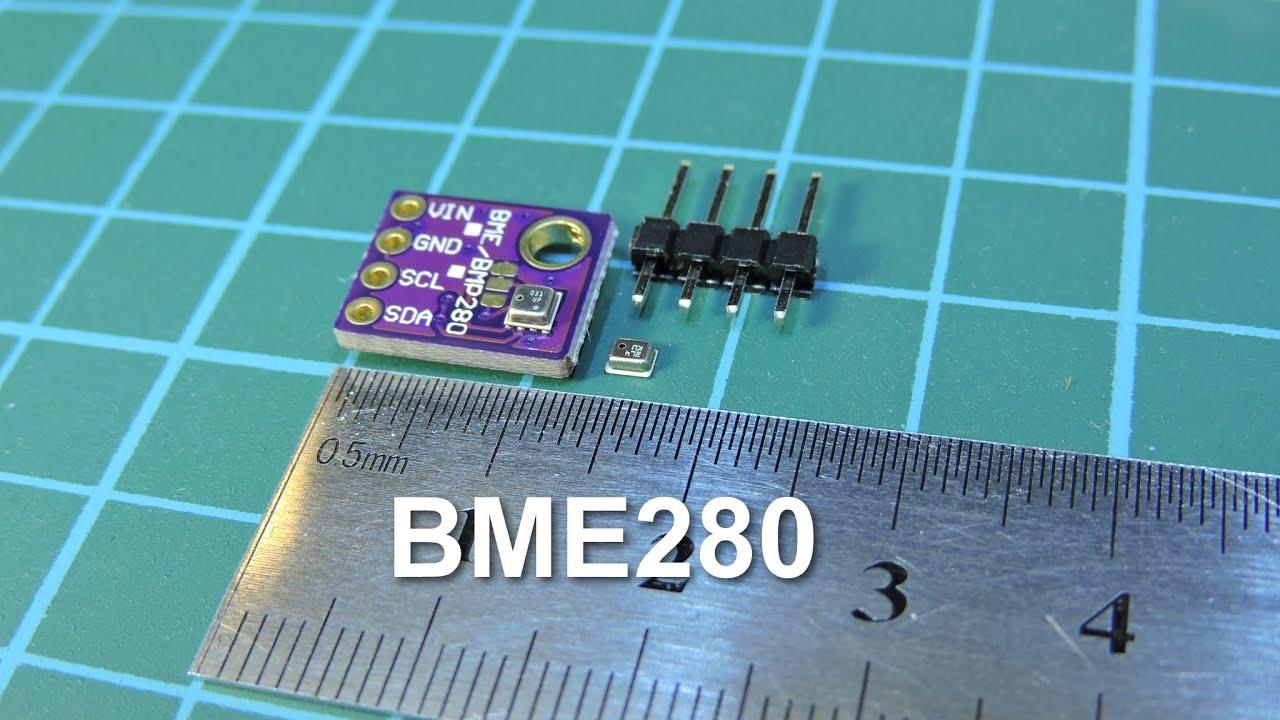 BME280 – датчик атмосферного давления с гигрометром | Avislab