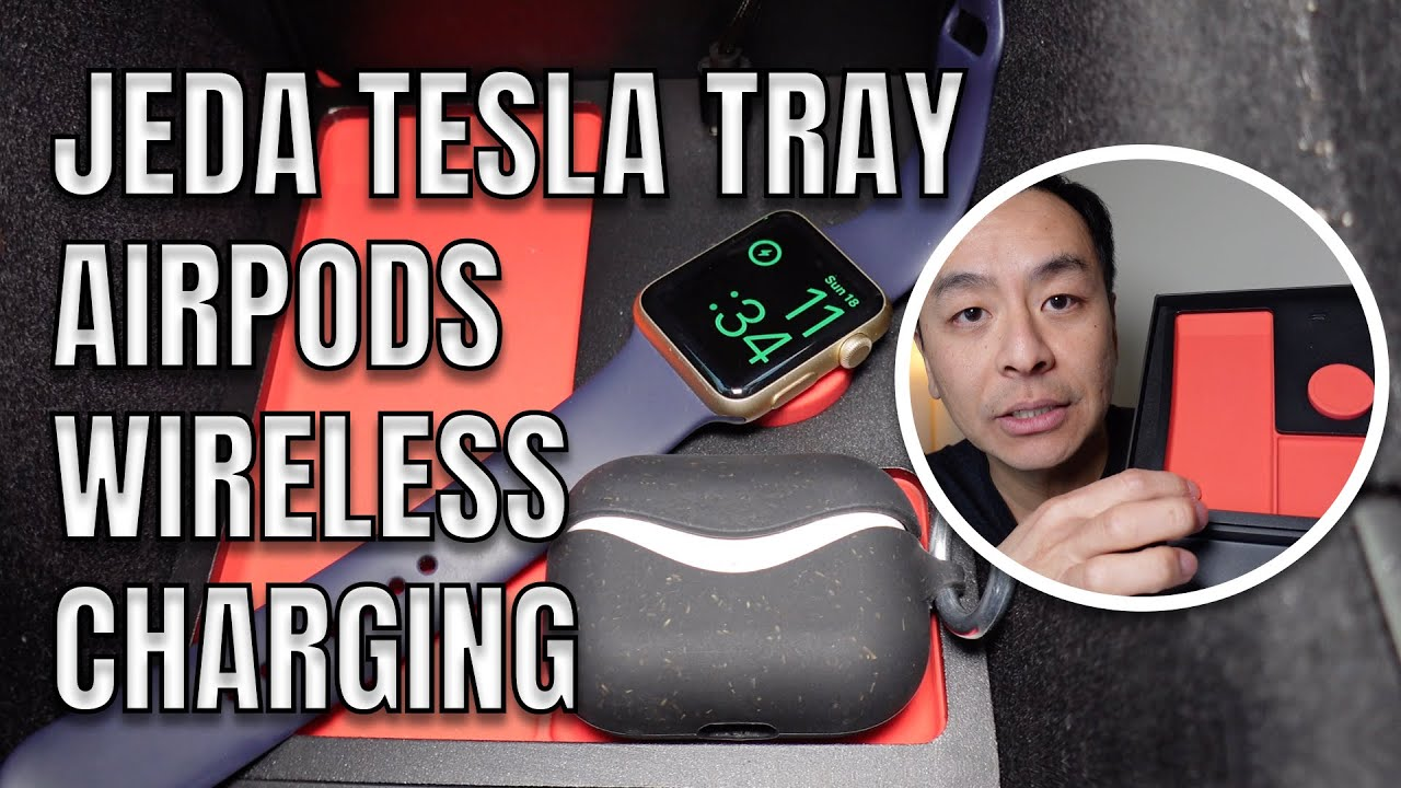 Download APPLE AIRPODS TESLA WIRELESS CHARGING Jeda Tray & SSD Model 3 Review