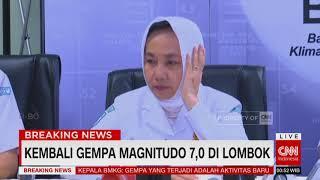 BMKG: Gempa yang Terjadi Adalah Aktivitas Gempa Baru dengan Magnetudo 6,9. #PrayForLombok, #Gempa