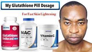 How I Take Jarrow Formulas Glutathione Reduced To Fix My Hyperpigmentation