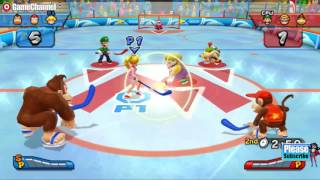 Mario Sports Mix Mario And Friends Hockey Games - Videos Games - Nintendo Wii Edition