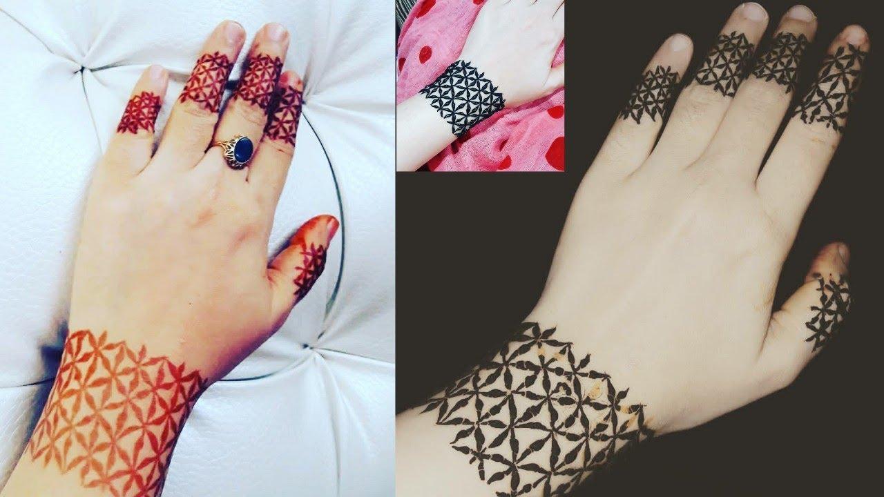 mehndi design bracelet type
