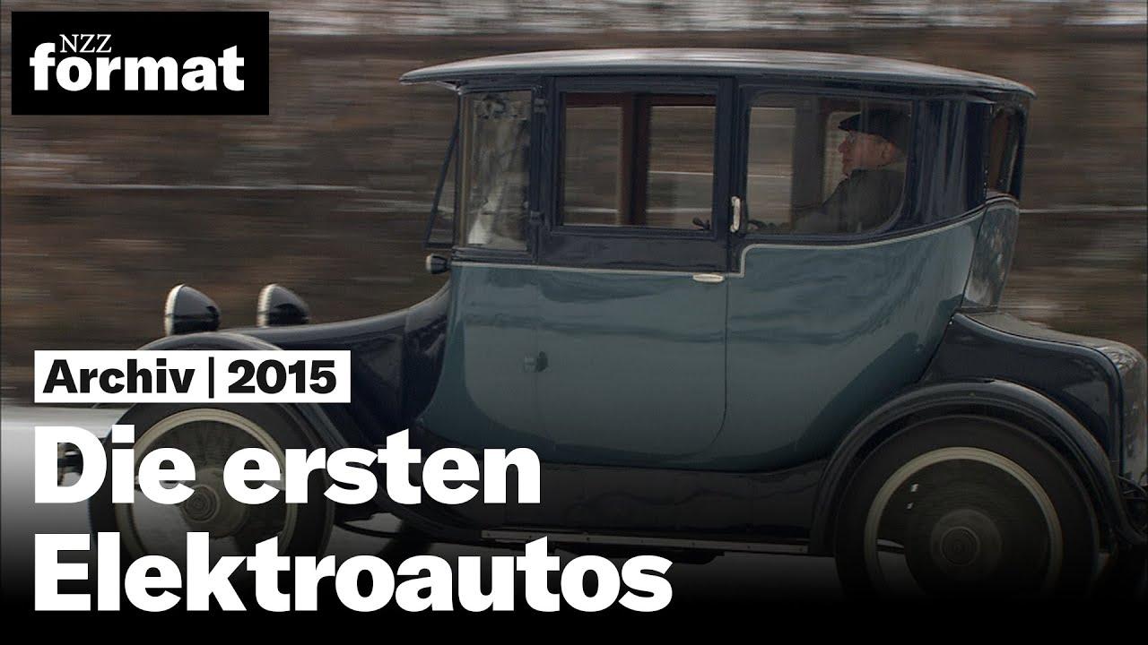 Die ersten Elektroautos: von den Anfängen des Elektromobils - YouTube