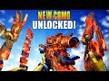 NEW CAMO UNLOCKED! (Dragon Fire Camo Gameplay & Funny Moments) Free Multiplayer Pack-A-Punch Camo!