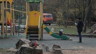 Реконструкция в Молодежном парке в Керчи