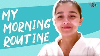 Alia Bhatt's Morning Routine on Set | Alia Bhatt