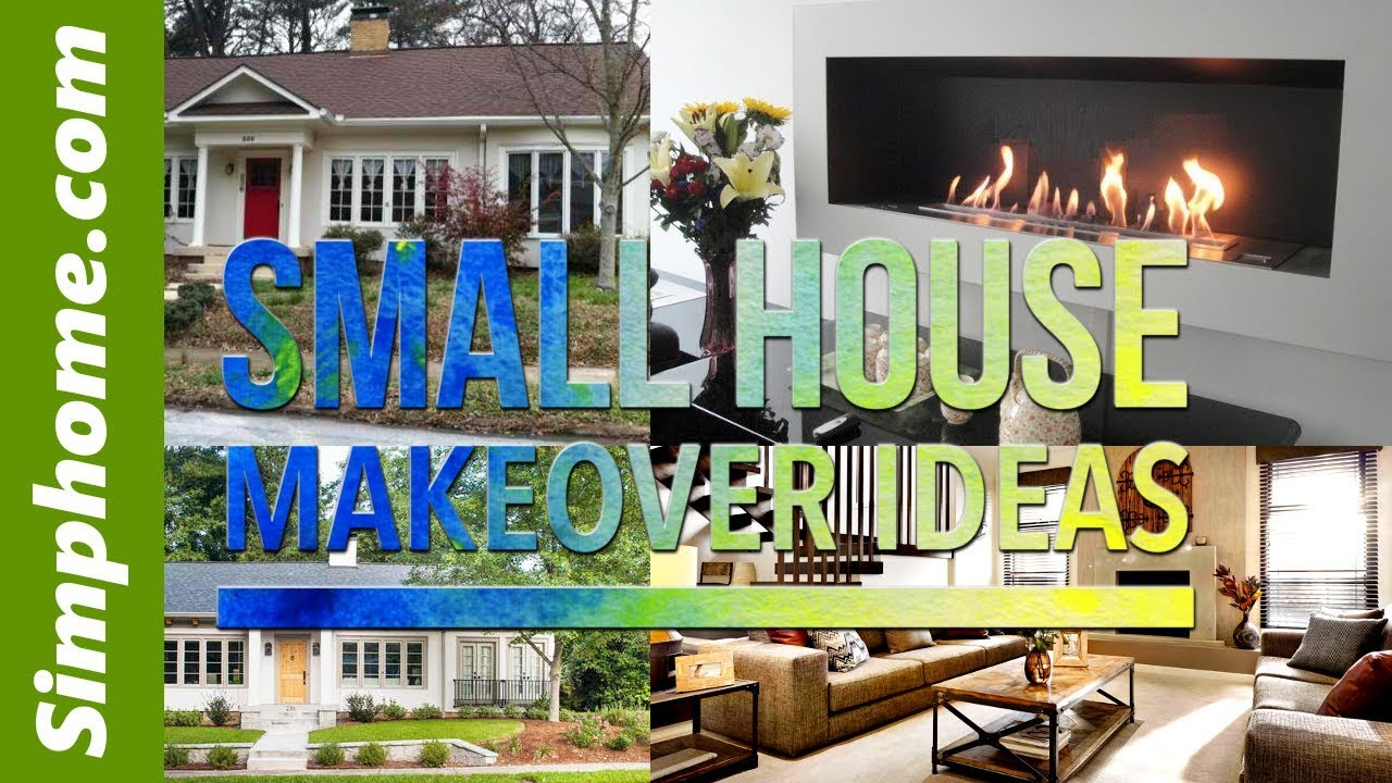 20 Ideas How To Makeover Small House Youtube