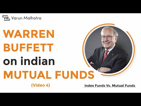 Mutual Funds - Warren Buffett on Indian Mutual Funds (Part 4 - Hindi)
