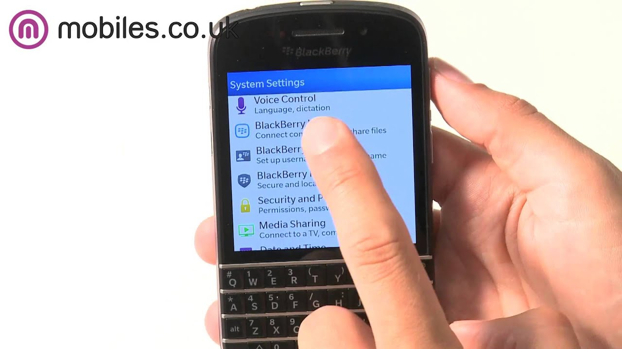 Why Buy The Blackberry Q10?