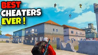 I KILLED A CHEATER/HACKER SQUAD!!! | BEST GAMEPLAY AGAINST CHEATERS | PUBG MOBILE