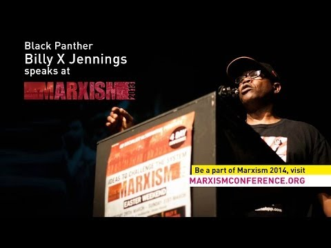 Black Panther Billy X Jennings speaks @ Marxism 2013 (Introduced by Gary Foley)