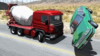 Realistic high speed crashes #24 - beamng drive