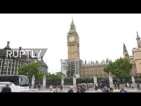 LIVE: Big Ben's last bong! Watch London's historic clock strike for last time until 2021