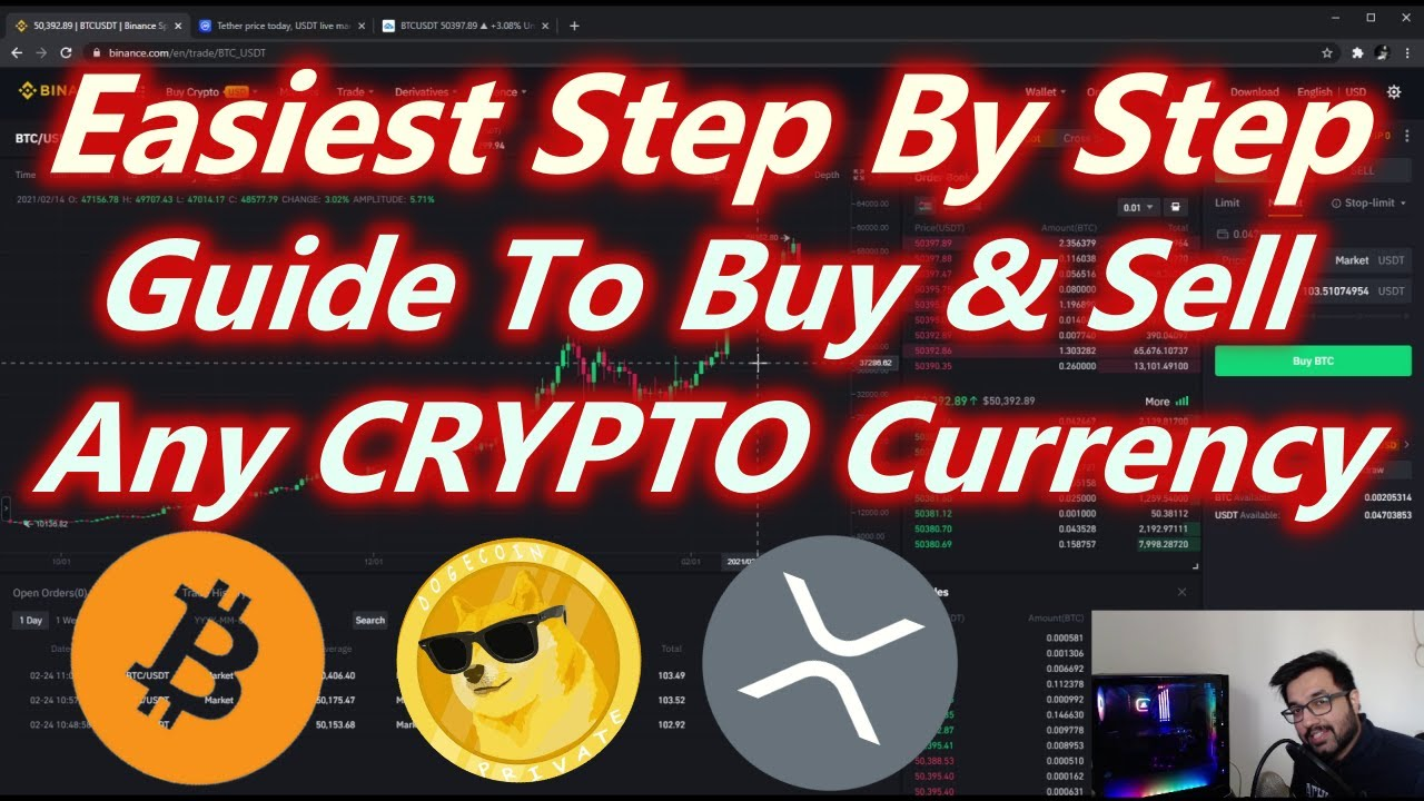 How to Buy/Sell Crypto Using SPOT Trading (Works on Any Website) (Halal Way Of Trading Crypto)