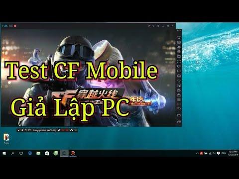 CF Mobile | Test Giả Lập Trên PC - Mod Phím !