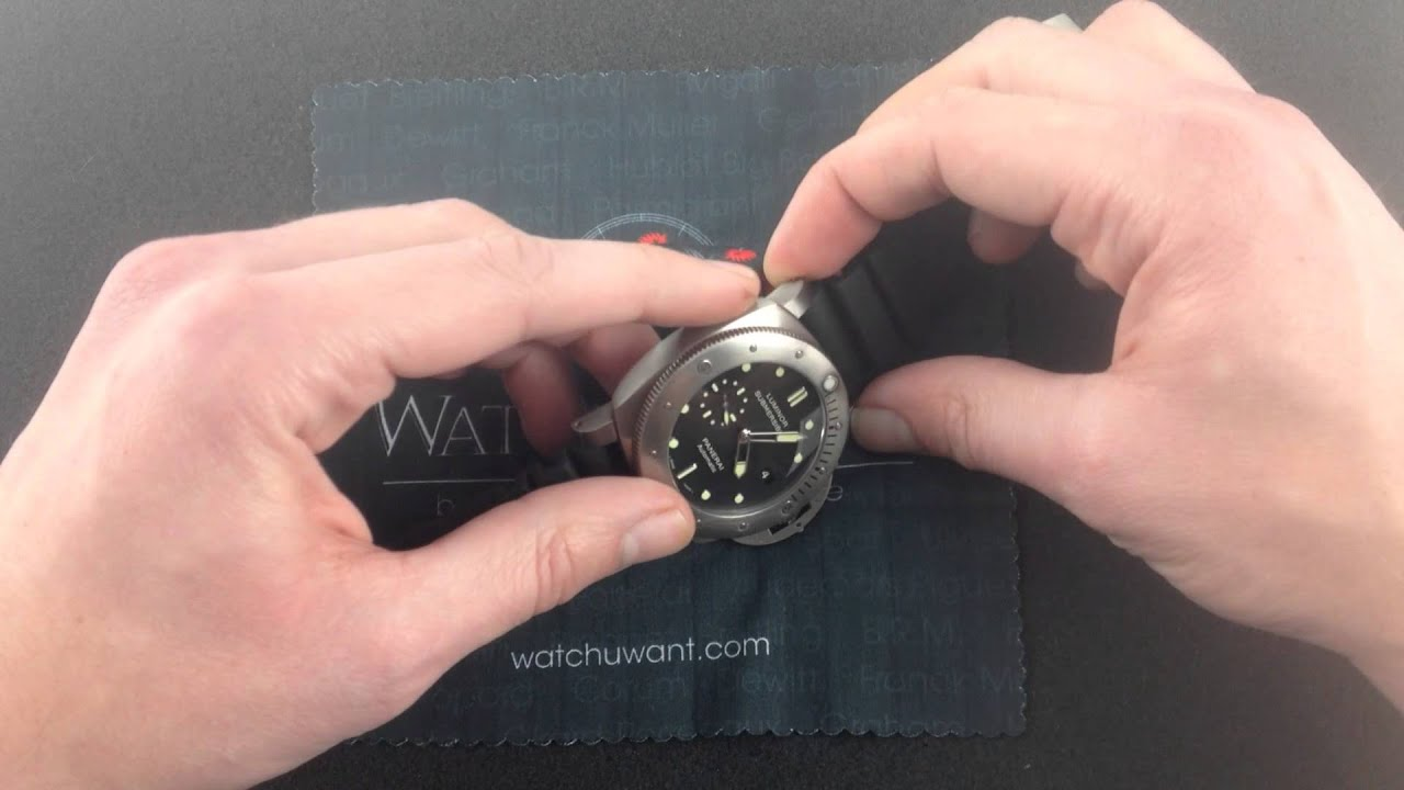 Download Panerai Luminor 1950 Submersible 3 Days PAM 305 Luxury Watch Review