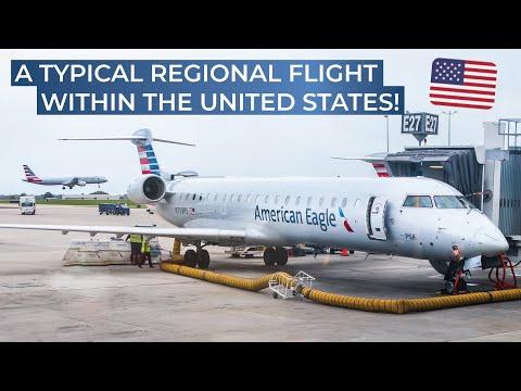 TRIPREPORT | American Eagle (ECONOMY) | Bombardier CRJ-700 | Charlotte - Cincinnati