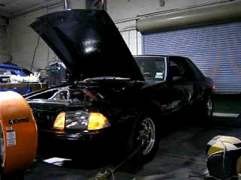 THR 347 Mustang Stroker 7000 RPM Dyno Pull 475 RWHP All Motor N/A