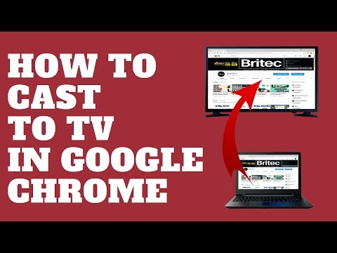 How to Cast to TV in Google Chrome - YouTube