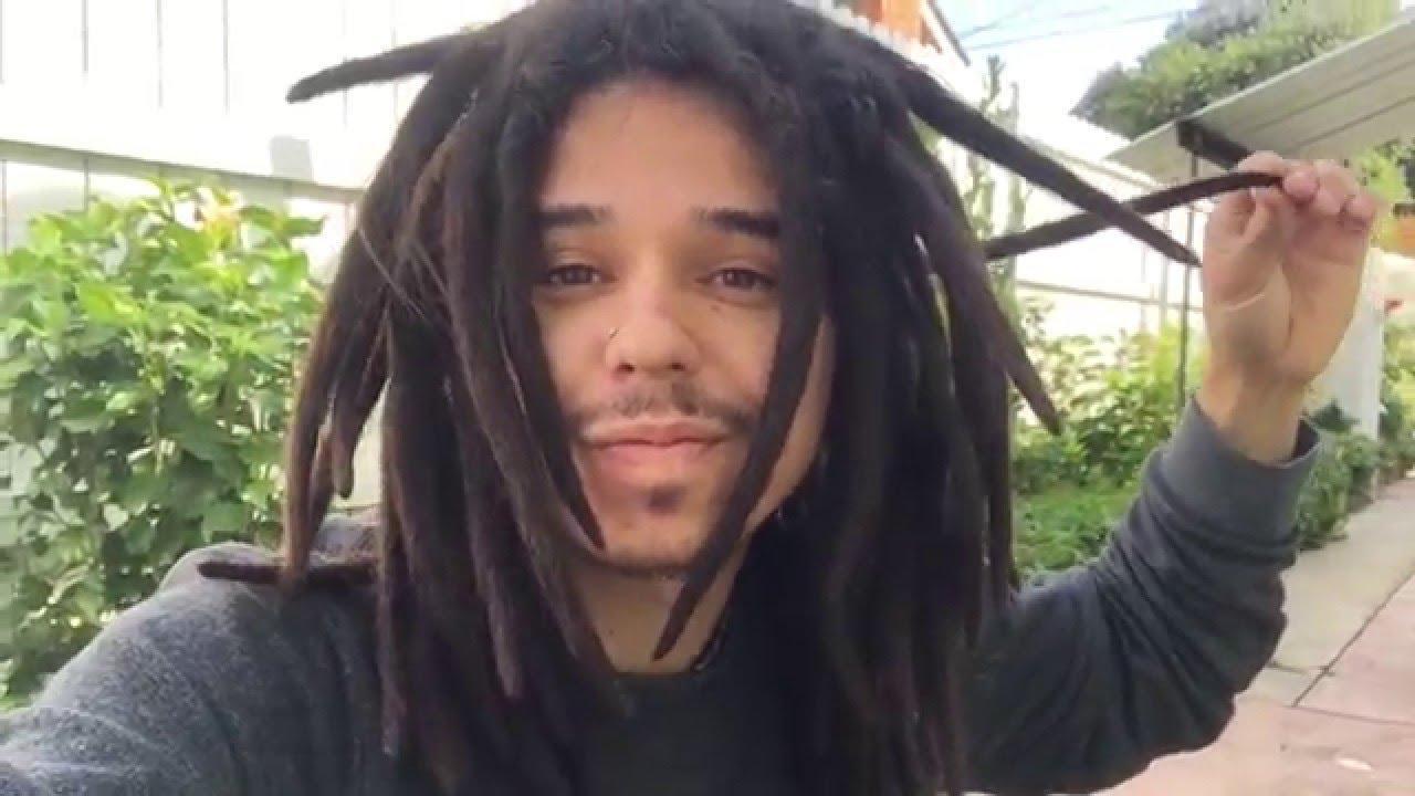 Dreadlocks On Straight Hair 8 Months Youtube