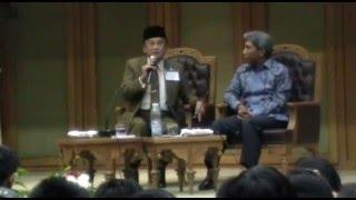 Habibie: Pilih Imtaq atau Iptek? Dialog Umum, 6 Juli 2011, Al-Azhar, Cairo
