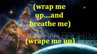 Sarah Brightman-Breathe me Lyrics/letra