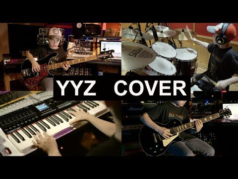 Rush - YYZ (Multi-Instrumental Cover) by 13 year old