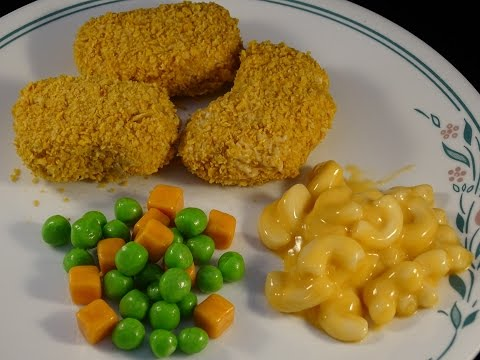 Food That Fools!  Chicken Nuggets And Mac & Cheese Dinner- With Yoyomax12