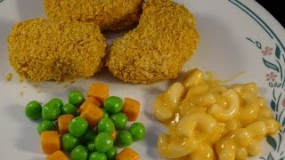 April Fool's Chicken Nuggets And Mac & Cheese Dinner- With Yoyomax12