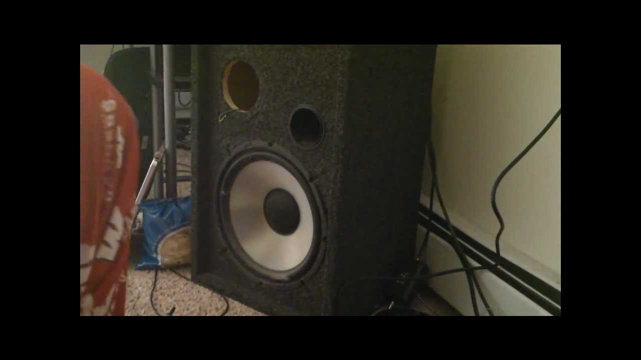 How to take apart and repair a speaker wmv