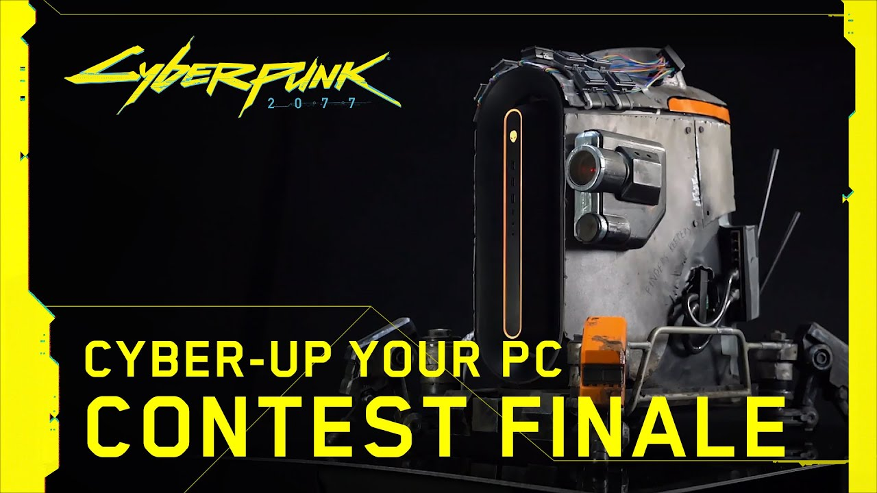 Cyberpunk 2077 — Cyber-up Your PC Contest Finale